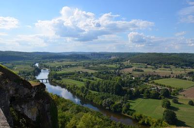 Vall de la Dordogne. Mirador de Domme