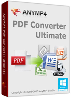 AnyMP4 PDF Converter Ultimate Crack Serial Free Download