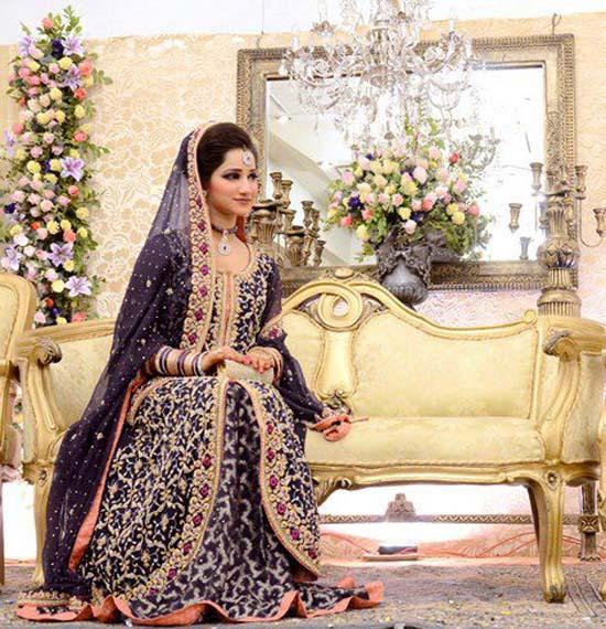 Latest Pakistani Bridal Dresses Collection 2013 - Angelic Hugs