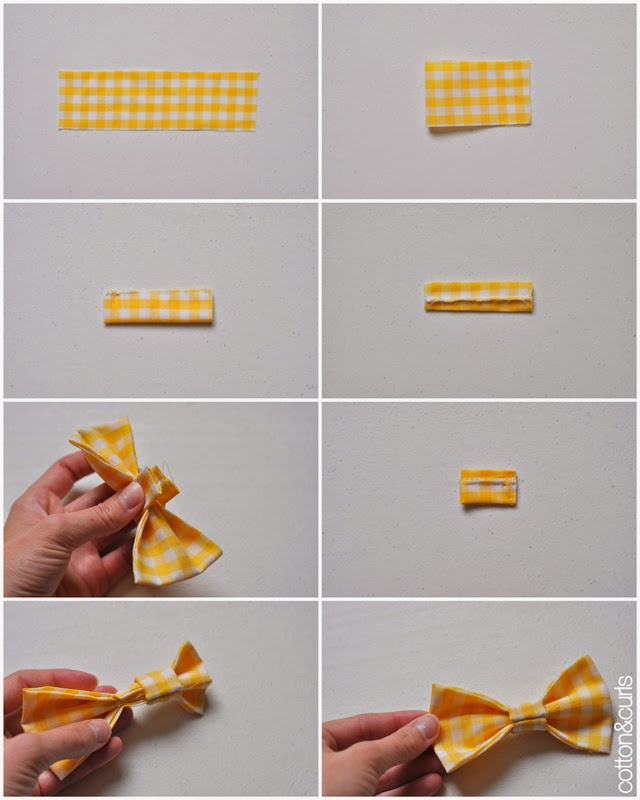 how to draw a bow tie step by step