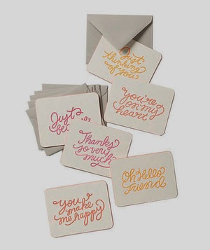 Every occasion Note card Set