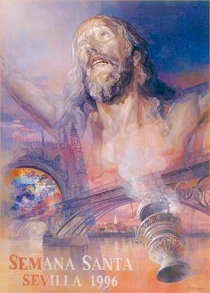 Cartel de la Semana Santa de Sevilla 1996