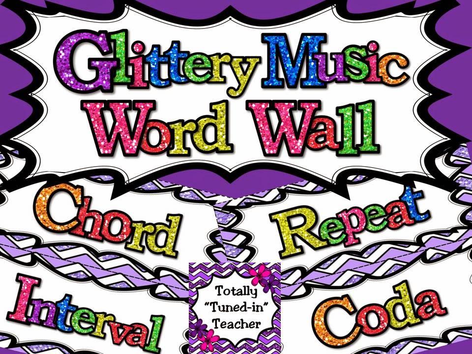 http://www.teacherspayteachers.com/Product/Music-Word-Wall-Glittery-Music-Mega-Set-in-lavender-1317941