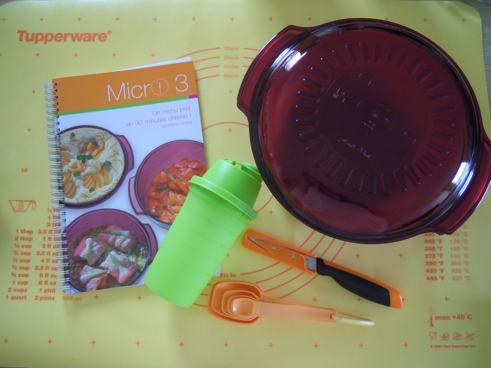 Am lie gourmandises tupperware courgettes au curry au micro ondes - Plat micro onde tupperware ...