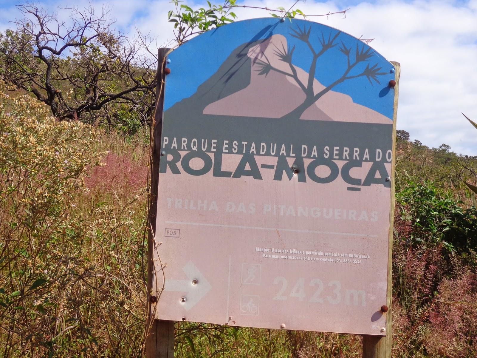 Resultado de imagem para trilha parque estadual da serra do rola moça