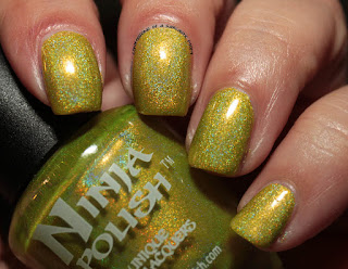Ninja Polish Infinity Gems Reality Swatches Review