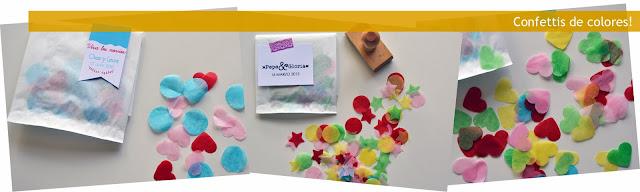 confettis de formas y colores
