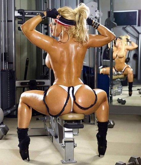 foto chicas en el gimnasio: