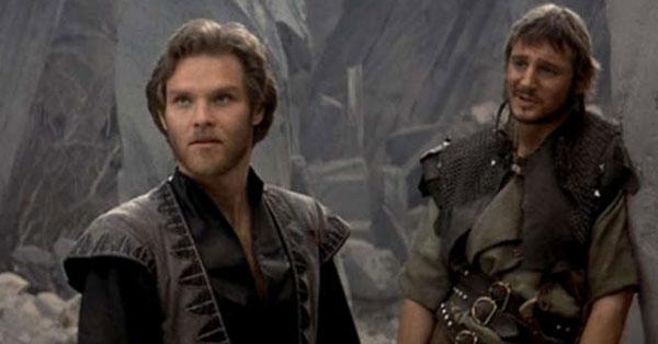 Liam Neeson in Krull