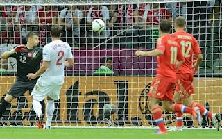 أهداف مباراة بولندا وروسيا 1-1 في بطولة اليورو 12-6-2012