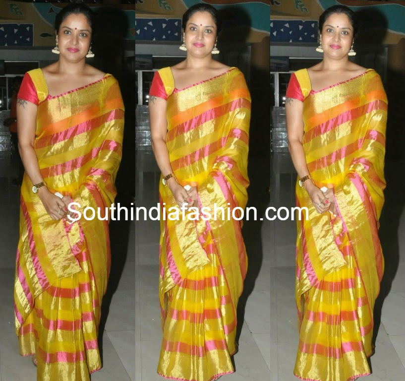 actress pragathi sarees