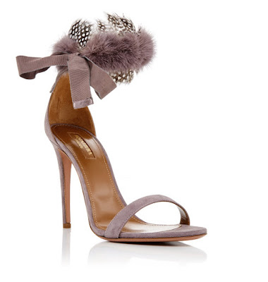 Aquazzura Heels with ankle straps