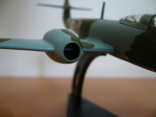 miniature reactor airplane Meteor F.1