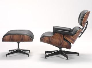 Vintage silla eames for Sillas para lectura