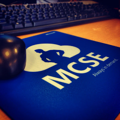 Microsoft MCSE Mouse Pads