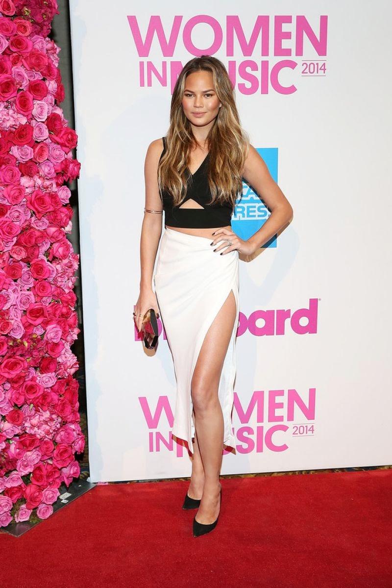 Chrissy Teigen – 2014 Billboard Women In Music Luncheon