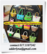 Hand bag FM/Black Magnet Board-RM15/pcs