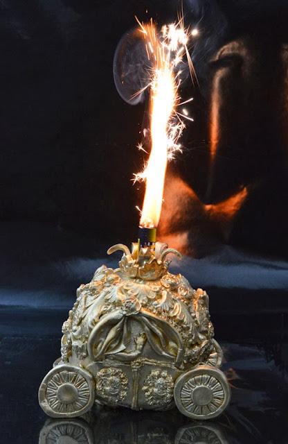 Gouden koets taart