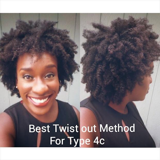 4c natural hair- achieving