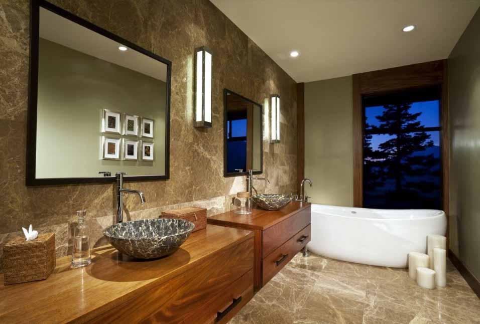 desain kamar mandi keren ciptakan nuansa santai dan