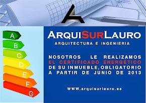 Para su certificado energético confíe en Arquisurlauro