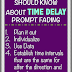 5 Things You Need to Know About Time Delay Prompt Fading