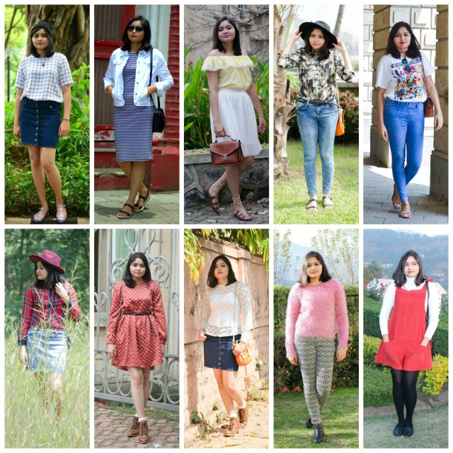 2015 Outfit Recap and Outtakes