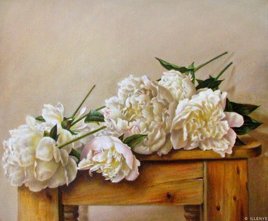 flores-decorativas-al-oleo