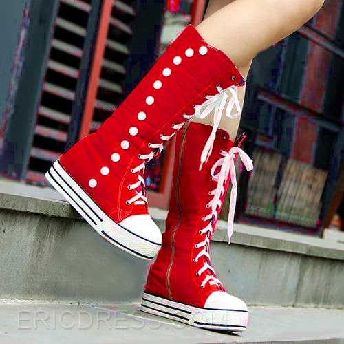 http://www.ericdress.com/product/2014-Hot-Canvas-Rivets-Knee-High-Boots-10992388.html