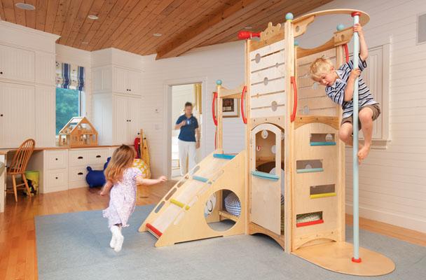 hopskoch: Indoor play structures