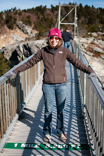 swinging bridge - mile high