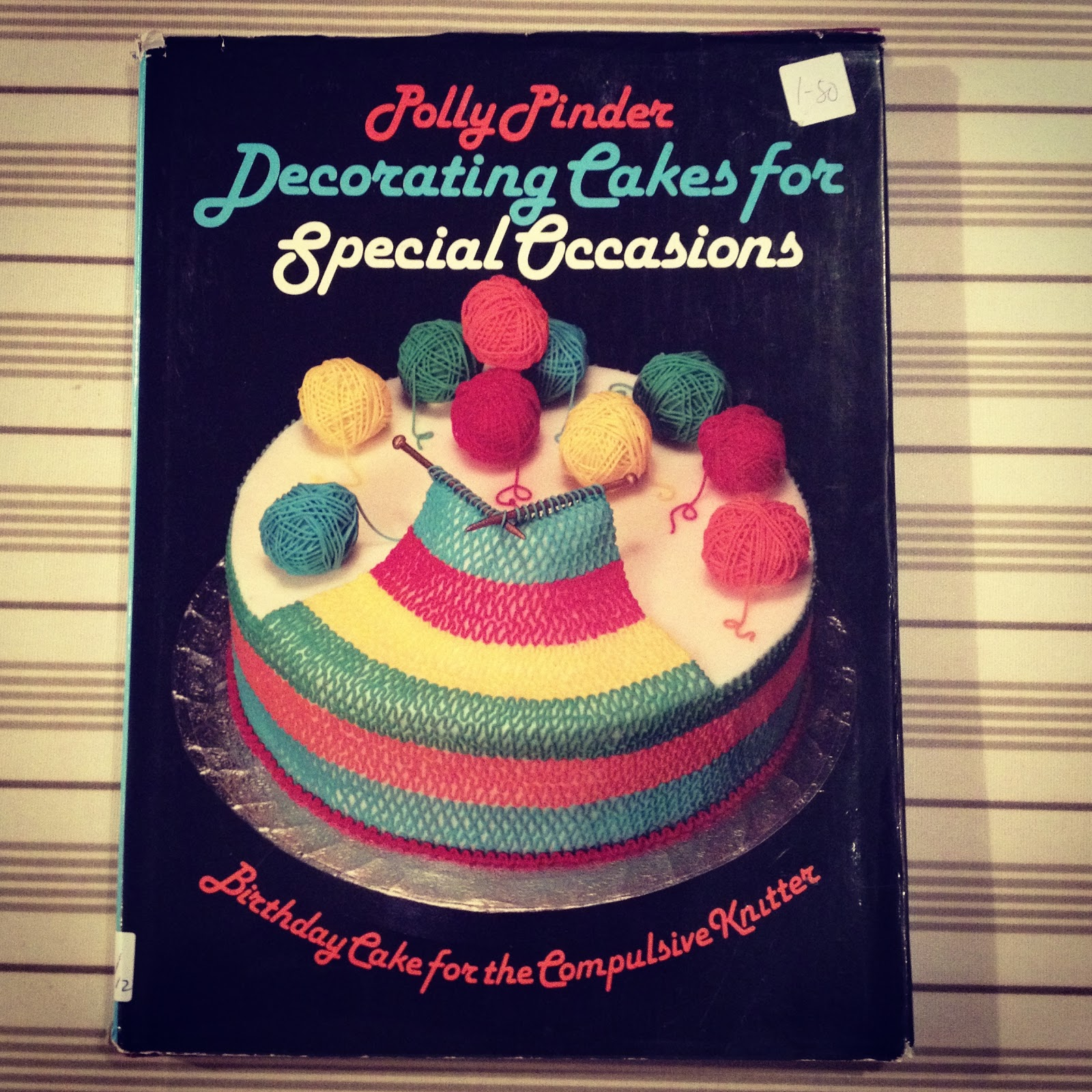 The vintage scientist the best 1980s cake decorating for Decoration books
