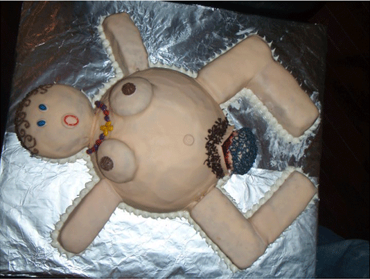 Wtf Baby Shower Cakes