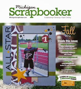 Michigan Scrapbooker Magazine-Fall 2013