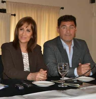 La diputada nacional Mirta Tundis visitó La Pampa
