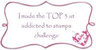 Top 3 Addicted to stamps challenge nº112