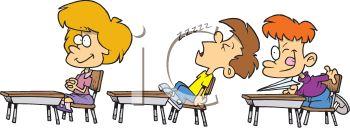 Kid disrupting class