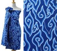 Aneka batik dengan motif megamendung