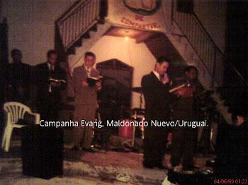 Assembléia de Deus em Maldonado Novo/URUGUAI