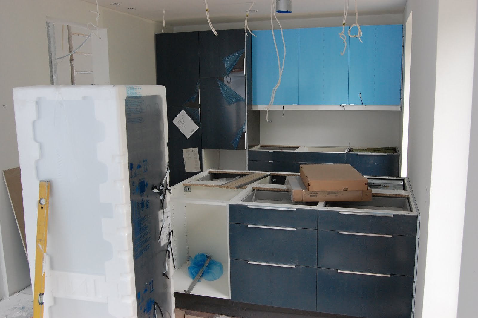 Projekteista isoin We have a kitchen!