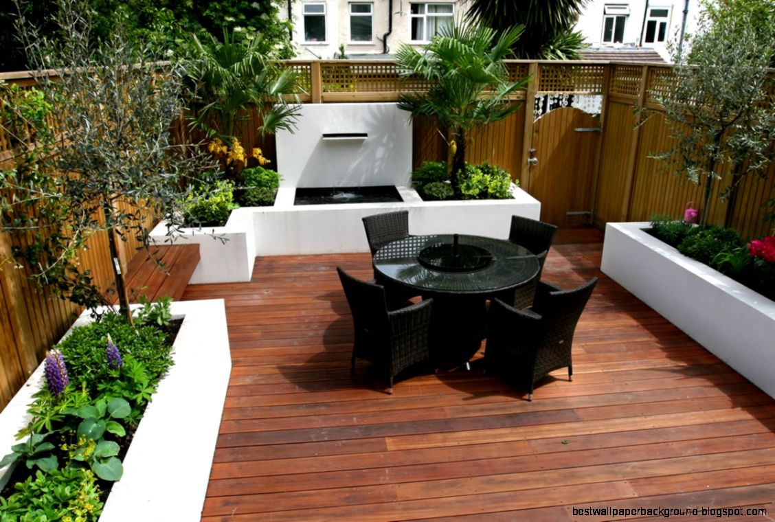 Creating Small gardens Design  Luxury Decorating  Designs
