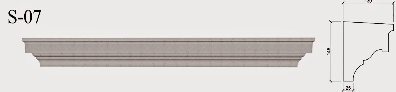 solbanc profile decorative fatada din polistiren pentru geamuri la exterior