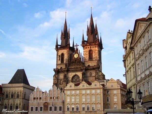 Praga, Chiesa di Santa Maria di Tyn