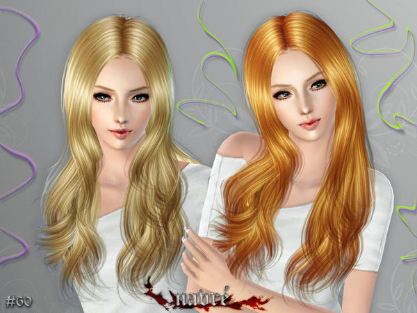 soccer hairstyles for girls : My Sims 3 Blog: Cazy Navre Hairstyle - Female