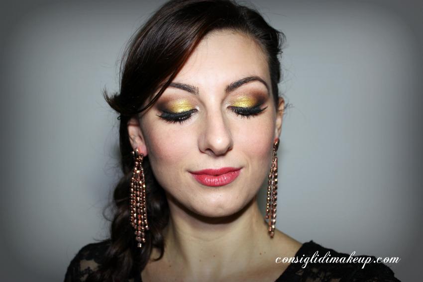 MOTD: Trucco natalizio facile con la Sparkling Party Palette di Shiseido