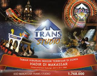 wahana main tiket trans studio makassar