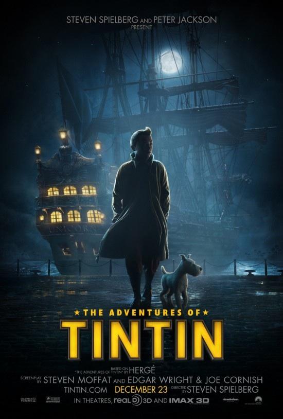 O Tintin de Spielberg está chegando