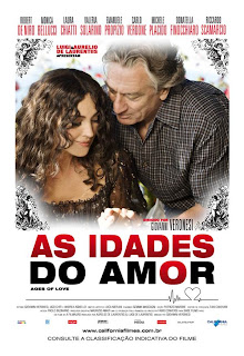 "Pôster nacional do filme ""As Idades do Amor"""