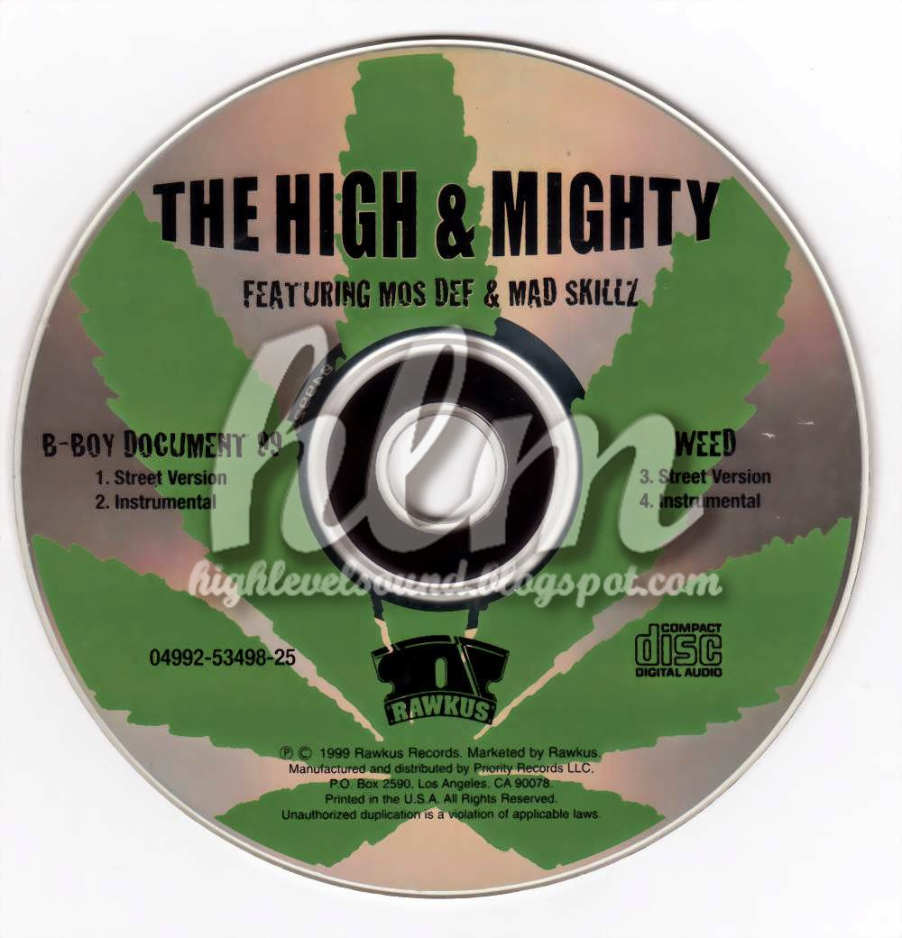 The High and Mighty B-Boy Document Remix