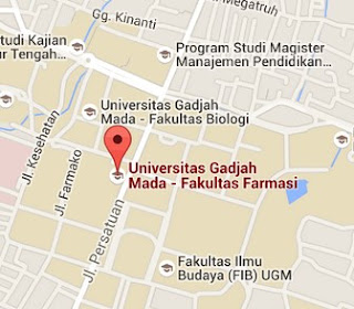 https://www.google.co.id/maps/place/Universitas+Gadjah+Mada+-+Fakultas+Farmasi/@-7.7686187,110.3769753,15z/data=!4m2!3m1!1s0x0:0xfac55f53c3afb07d
